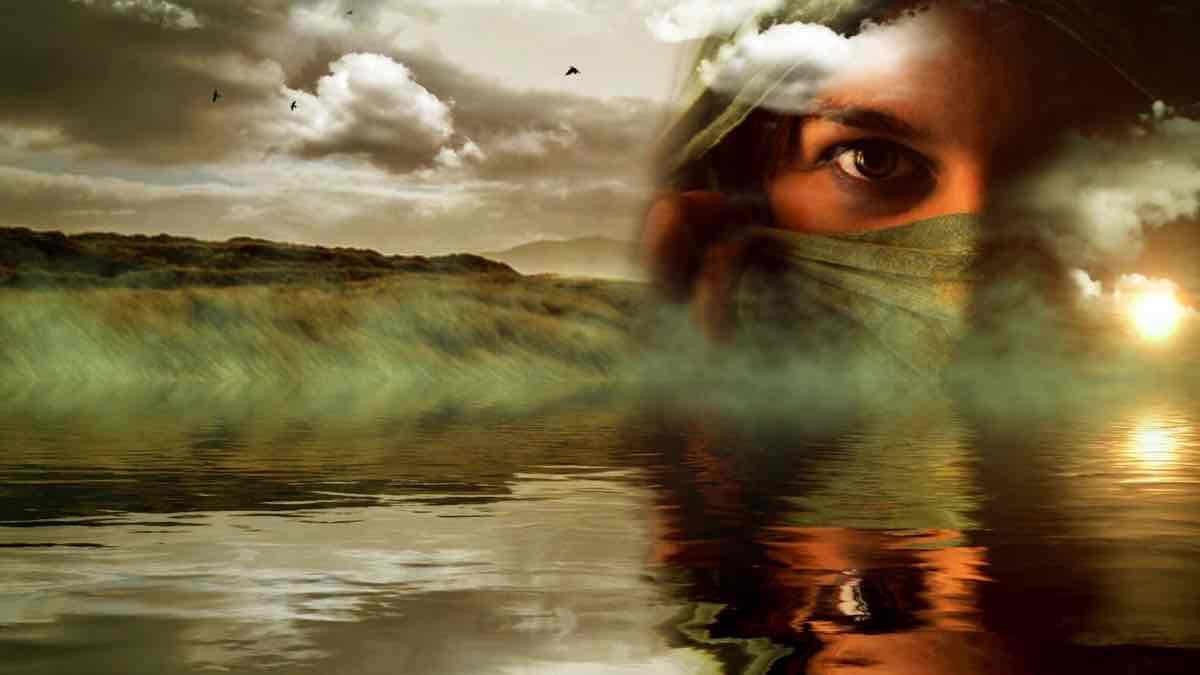 Colocate en la posicion del observador de si mismo
