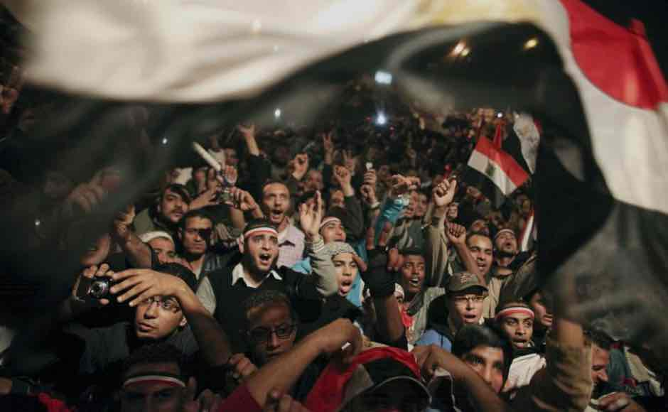 Manifestaciones durante la Primavera Arabe